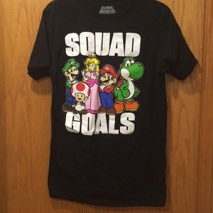 Other - Super Mario Bros Squad Goals Shirt M